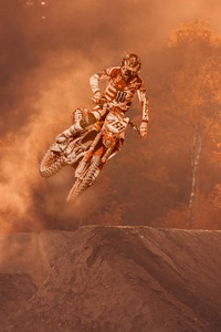 1440x2560 Motorcycle Stunter Dirt Bike Extreme