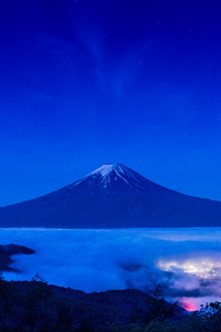 720x1280 Mount Fuji Beautiful Shot