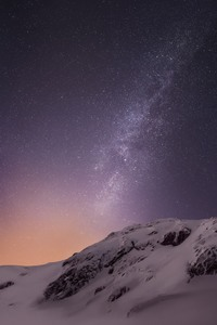 800x1280 Mountains And Stars