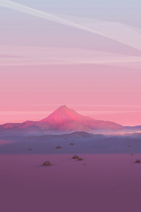 540x960 Mountains Grids Polygon 4k