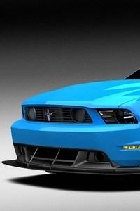 Muscle Blue Car · 720x1280 Muscle Blue Car