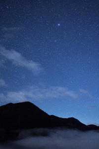 540x960 Nature Sky Stars Clouds Mountains Sky