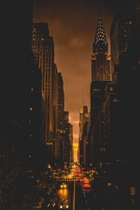 800x1280 New York City Evening