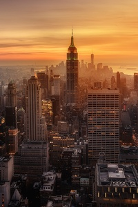 New York City Evening Time
