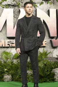 Nick Jonas Jumanji Welcome To The Jungle Movie UK Premiere