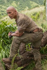 Nick Jonas Kevin Hart Dwayne Johnson Jumanji Welcome To The Jungle Movie