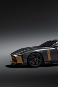 Nissan Gt R50 Side View 2018