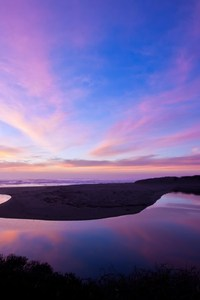 North Salmon Creek Beach Reflection