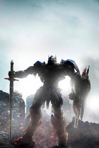 640x1136 Optimus Prime Transformers The Last Knight 4k