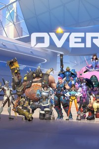 360x640 Overwatch Game All Heroes