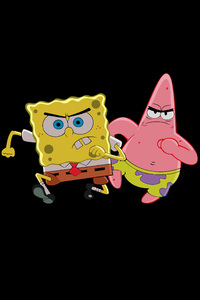 360x640 Patrick Star And Spongebob