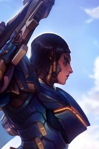 Pharah Overwatch Art By KNKL