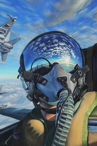 1125x2436 Plane Rider Amazing Cockpit View