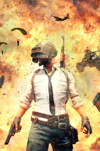 640x960 Playerunknowns Battlegrounds 2018 4k