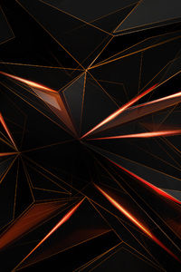 360x640 Polygon Abstract Shapes Sharp 4k