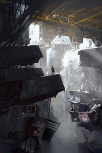 540x960 Portal 2 Steam Concept Art