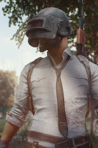 2160x3840 Pubg Mobile Helmet Guy