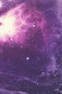 Purple Nebula 4k