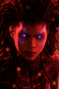 320x480 Queen Of Blades Starcraft