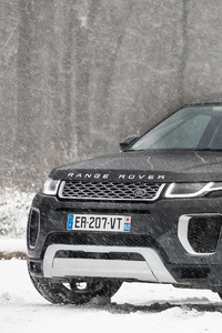 Range Rover Evoque Autobiography Si4 In Snow