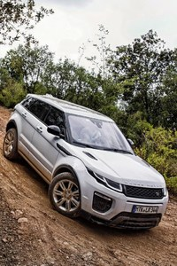 640x960 Range Rover Offroading