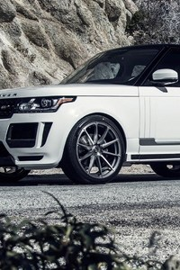 Range Rover Vogue White