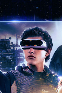 480x800 Ready Player One Movie International Poster