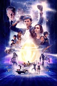 480x854 Ready Player One Movie Poster Artwork