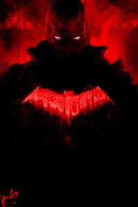 540x960 Red Hood Paint Art