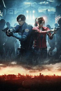 Resident Evil 2 Official Art 2019