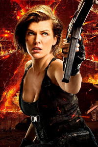 Resident Evil The Final Chapter New Poster
