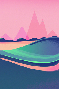 640x960 Retro Wave Artistic 4k
