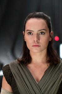 Rey In Star Wars The Last Jedi 2017