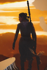 Rey Star Wars Artwork