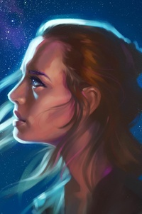 Rey Star Wars Fan Artwork
