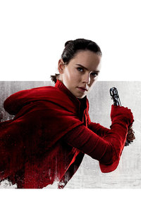 Rey Star Wars The Last Jedi 10k