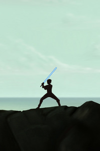 Rey Training Artwork