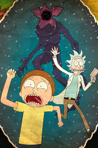 1125x2436 Rick And Morty 4k