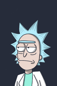 240x320 Rick In Rick And Morty