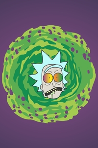 Rick Sanchez Artwork 5k