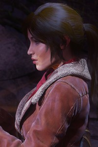 640x1136 Rise Of The Tomb Raider 8k 2018