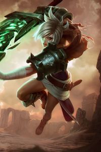1125x2436 Riven League Of Legends 5k