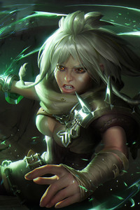640x1136 Riven League Of Legends HD