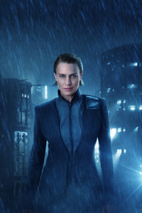 Robin Wright As Lieutenant Joshi In Blade Runner 2049 4k