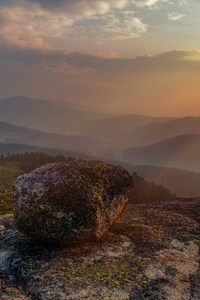 480x854 Rock Landscape Mountain Sunset Sky 5k