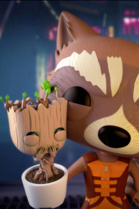 Rocket And Baby Groot Bait n Switch