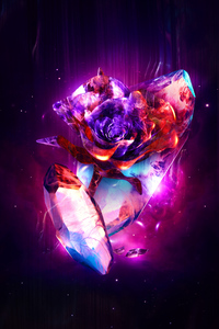 360x640 Rose Abstract 4k