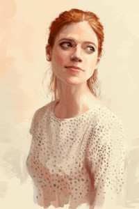 320x480 Rose Leslie Game Of Thrones Digital Art