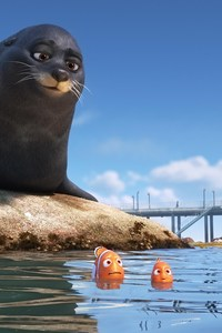 Rudder And Fluke In Finding Dory