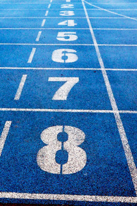 320x568 Running Track Numbers